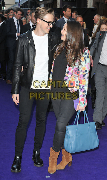 Tom Fletcher &amp; Giovanna Fletcher at the &quot;Disney's Aladdin&quot; press night, Prince Edward Theatre, Old Compton Street, London, England, UK, on Wednesday 15 June 2016.<br /> CAP/CAN<br /> &copy;CAN/Capital Pictures