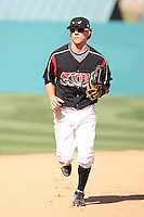Blake Tekotte  -  Lake Elsinore Storm playing against the Lancaster JetHawks at the Diamond, Lake Elsinore, CA - 05/16/2010.Photo by:  Bill Mitchell/Four Seam Images