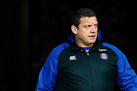 Bath Rugby first team coach Toby Booth looks on prior to the match. Heineken Champions Cup match, between Stade Toulousain and Bath Rugby on January 20, 2019 at the Stade Ernest Wallon in Toulouse, France. Photo by: Patrick Khachfe / Onside Images