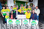 The organisors of the Killarney 54321 challenge presented the proceeds to three charities Irish Pilgrimage Trust, Killarney Cardiac Response and Sarah Huskey Animal Rescue Centre in Reidy's bar Killarney on Friday night