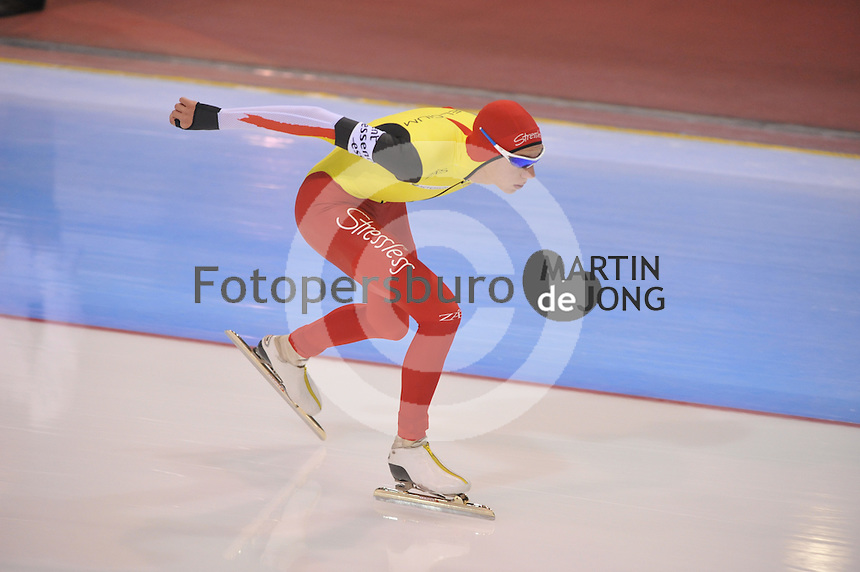 SCHAATSEN: SALT LAKE CITY: Utah Olympic Oval, 17-11-2013, Essent ISU World Cup, 5000m, Bart Swings (BEL), ©foto Martin de Jong