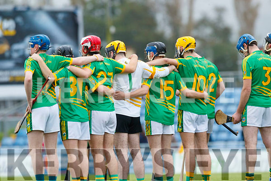 Lixnaw before the Senior County Hurling Final in Austin Stack Park on Sunday