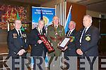 PRESENTATION: A special presentation was made to Major General Dave Ashe (deputy Chief of Staff)of Thomas Ashe Medal from Mick Scannell (Hon President ONE Thomas Ashe Branch Kerry) and A certificate of membership of the Thomas Ashe Branch, Kerry) from Mossie Roche (Chairman of Kerry Branch ONE), L-r: Ger Landers, Mick Scannell, Major General Dave Ashe, Mossie Roche and John Mulhall..................... ..........