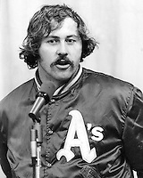 "Oakland A's pitcher Jim ""Catfish"" Hunter.<br />