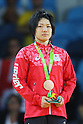 Misato Nakamura (JPN), <br /> AUGUST 7, 2016 - Judo : <br /> Women's -52kg Medal Ceremony <br /> at Carioca Arena 2 <br /> during the Rio 2016 Olympic Games in Rio de Janeiro, Brazil. <br /> (Photo by YUTAKA/AFLO SPORT)