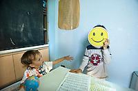 homeschooling, educazione parentale. Thomas e leonardo smile
