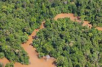 Aerial view; Sarawak, Malaysia; Borneo