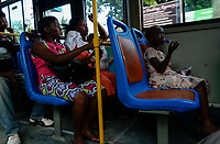 TANZANIA Daressalaam, new public transport system, Dar Rapid Transit DART is a bus rapid transit system with chinese Golden Dragon buses, line system with stations built by Austrian construction company Strabag International GmbH , funded by the African Development Bank AfDB, the World Bank WB and the Government of Tanzania