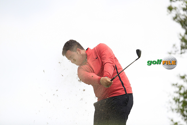 Michael McGurk (Warrenpoint) on the 7th tee during Round 2 of the Irish Boys Amateur Open Championship at Tuam Golf Club on Wednesday 24th June 2015.<br /> Picture:  Thos Caffrey / www.golffile.ie