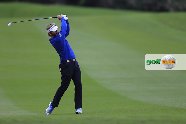 Joost Luiten (NED) on the 2nd during round 3 of the WGC-HSBC Champions, Sheshan International GC, Shanghai, China PR.  29/10/2016<br /> Picture: Golffile | Fran Caffrey<br /> <br /> <br /> All photo usage must carry mandatory copyright credit (&copy; Golffile | Fran Caffrey)