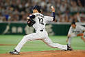 Ryo Akiyoshi (JPN),<br /> MARCH 7, 2017 - WBC :<br /> 2017 World Baseball Classic First Round Pool B Game between<br /> Japan 11-6 Cuba at Tokyo Dome in Tokyo, Japan.<br /> (Photo by Yusuke Nakanishi/AFLO SPORT)