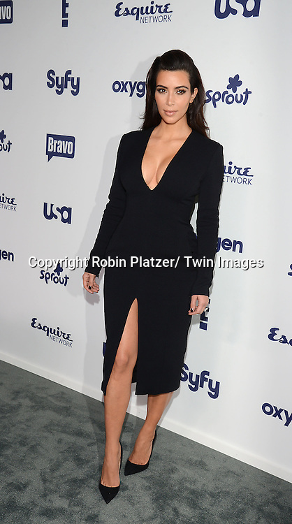 Kim Kardashian attend the NBCUniversal Cable Entertainment Upfront <br /> on May 15, 2014 at The Javits Center North Hall in New York City, New York, USA.