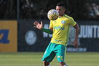 SÃO PAULO,SP,14.07.2016 - FUTEBOL-PALMEIRAS - Gabriel Jesus durante treino na Academia de Futebol na Barra Funda,zona oeste de São Paulo, na tarde desta quinta-feira (14). (Foto : Marcio Ribeiro / Brazil Photo Press)