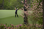 AUGUSTA, GA - APRIL 12: Phil Mickelson hits off the rough during the Second Round of the 2013 Masters Golf Tournament at Augusta National Golf Club on April 10in Augusta, Georgia. (Photo by Donald Miralle) *** Local Caption ***