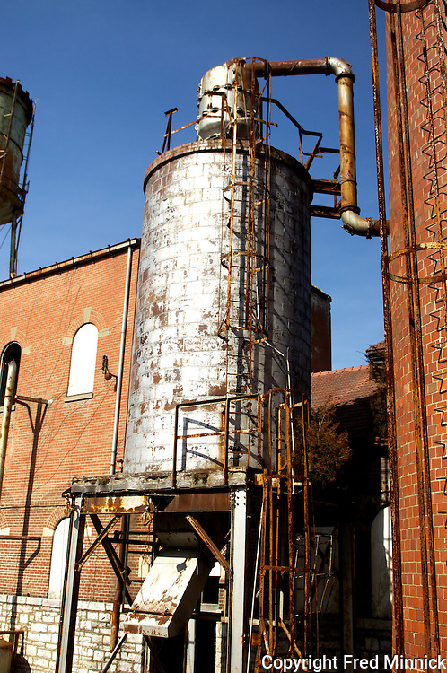 The Old Taylor Distillery was once the greatest bourbon distillery in Kentucky.
