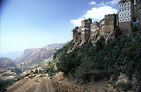 Yemen,Bait al Amir, landscape