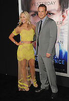 Cole Hauser &amp; wife Cynthia Daniel at the Los Angeles premiere of his movie &quot;Transcendence&quot; at the Regency Village Theatre, Westwood.<br /> April 10, 2014  Los Angeles, CA<br /> Picture: Paul Smith / Featureflash