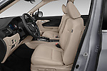 Front seat view of a 2020 Honda Pilot Touring 5 Door SUV front seat car photos