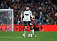 5th January 2020; Selhurst Park, London, England; English FA Cup Football, Crystal Palace versus Derby County; Curtis Davies of Derby County - Strictly Editorial Use Only. No use with unauthorized audio, video, data, fixture lists, club/league logos or 'live' services. Online in-match use limited to 120 images, no video emulation. No use in betting, games or single club/league/player publications