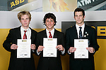 Underwater Hockey Boys Finalists. ASB College Sport Young Sportsperson of the Year Awards 2006, held at Eden Park on Thursday 16th of November 2006.<br />