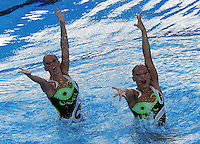 Roma 20th July 2009 - 13th Fina World Championships From 17th to 2nd August 2009..Rome (Italy) 20 07 2009..Synchronized swimming - Technical duet preliminaries..Team Germany......photo: Roma2009.com/InsideFoto/SeaSee.com