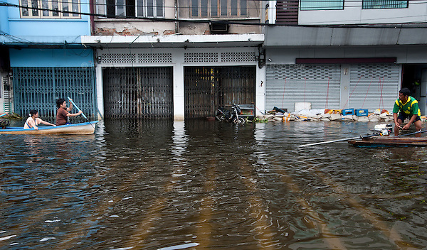 Thailand's worst floods for 50 years finally reached the suburbs of Bangkok in October 2011. While the government dithered and argued with itself, more than 200 people died.
