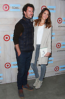 CULVER CITY, LOS ANGELES, CA, USA - NOVEMBER 12: Blake Mycoskie, Jessica Alba arrive at the TOMS For Target Launch Event held at the Book Bindery on November 12, 2014 in Culver City, Los Angeles, California, United States. (Photo by David Acosta/Celebrity Monitor)