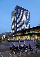 Nederland Amsterdam 2018 . Het kantoor van ABN AMRO op de Zuidas. Foto Berlinda van Dam / Hollandse Hoogte