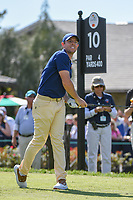 Rory McIlroy (NIR) watches his tee shot on 10 during round 1 of the Arnold Palmer Invitational at Bay Hill Golf Club, Bay Hill, Florida. 3/7/2019.<br /> Picture: Golffile | Ken Murray<br /> <br /> <br /> All photo usage must carry mandatory copyright credit (&copy; Golffile | Ken Murray)