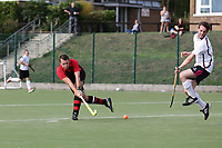 Havering score their first goal during Havering HC vs Wapping HC 2nd XI, East Region League Field Hockey at Campion School on 13th October 2018