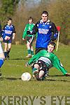 Castleisland v Ballyhar Dynamos in their Under 15 Division One meeting in Castleisland on Saturday.
