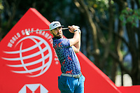 Erik Van Rooyen (RSA) on the 3rd tee during the 3rd round of the WGC HSBC Champions, Sheshan Golf Club, Shanghai, China. 02/11/2019.<br /> Picture Fran Caffrey / Golffile.ie<br /> <br /> All photo usage must carry mandatory copyright credit (© Golffile | Fran Caffrey)