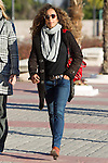 Spanish singer Rosario Flores arrived to the wake of Bimba Bose at the La Paz tannery in Madrid. Spain. January 24th 2017. (ALTERPHOTOS/Rodrigo Jimenez)