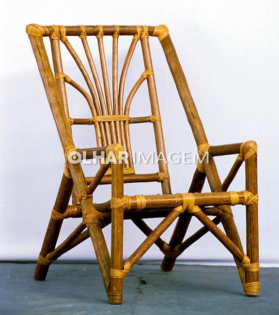Cadeira de madeira, artesanato paraense. Foto de João Caldas.