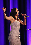 Natascia Diaz.performing at the Signature Theatre Stephen Sondheim Award Gala honoring Patti Lupone at the Embassy of Italy in Washington D.C. on 4/16/2012.