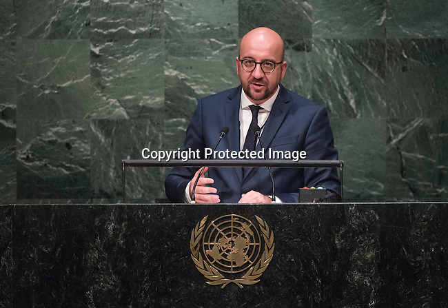 Statement by His Excellency Charles Michel, Prime Minister of the Kingdom of Belgium