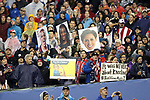 WASHINGTON, DC - MARCH 07: U.S. fans hold up signs supporting their team as well as photographs of (from left) Kelley O'Hara, Crystal Dunn, and Meghan Klingenberg. The United States Women's National Team hosted the France Women's National Team as part of the SheBelieves Cup on March 7, 2017, at RFK Stadium in Washington, DC. France won the game 3-0.