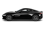 Car Driver side profile view of a 2018 Aston Martin Vantage - 2 Door Coupe Side View
