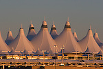 Sunrise at Denver International Airport, DIA, Denver, Colorado. .  John offers private photo tours in Denver, Boulder and throughout Colorado. Year-round Colorado photo tours.