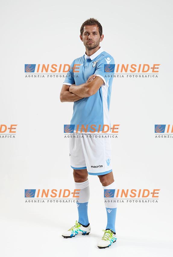 Roma 06-07-2016 <br /> presentazione maglia home Lazio 2016/2017 <br /> Home ss Lazio shirt <br /> Senad Lulic  <br /> Foto M3studio Produzioni Fotografiche/fotonotizia/Insidefoto