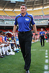 05 May 2010: Kansas City head coach Peter Vermes. DC United defeated the Kansas City Wizards 2-1 at RFK Stadium in Washington, DC in a regular season Major League Soccer game.