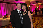 Ronnie Whelan with his wife Catherine at the gala dinner.<br /> The Celebrity Cup 2015<br /> Celtic Manor Resort<br /> <br /> 04.07.15<br /> &copy;Steve Pope - SPORTINGWALES