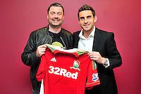 Swansea city fc sponsor awards... saturday 19th may 2013...<br /> <br /> <br /> <br /> Angel Rangel.