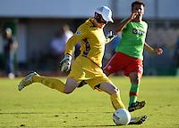 FUSSBALL  DFB POKAL        SAISON 2012/2013 SV Wacker Burghausen - Fortuna Duesseldorf  19.08.2012 Torwart Rene Vollath (Burghausen)