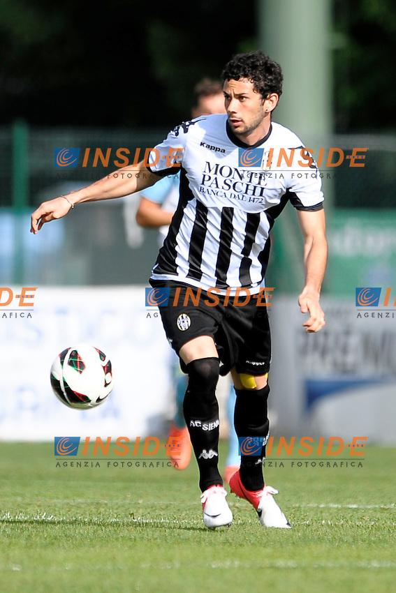 Marcelo Larrondo Siena.Auronzo di Cadore 25/7/2012.Football Calcio 2012 / 2013 .Amichevole Friendly Match.SS Lazio Vs AC Siena.Foto Insidefoto.
