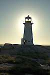 Lighthouse, Peggys Cove, Nova Scotia, Canada