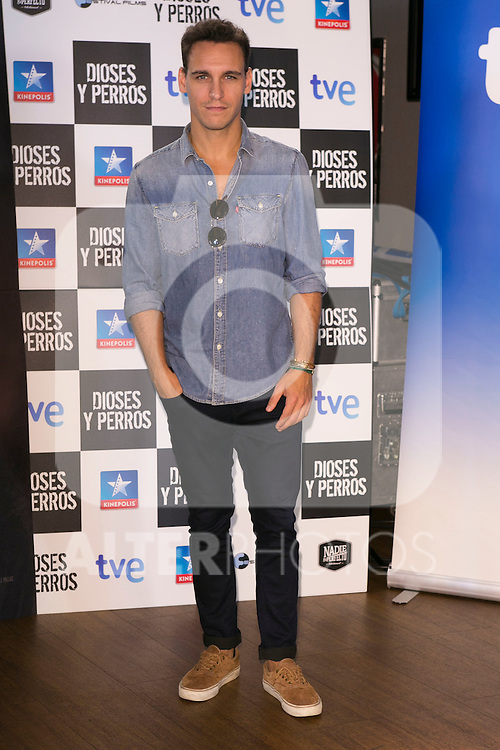 "Ricard Sales attends the ""DIOSES Y PERROS "" Movie presentation at Kinepolis Cinema in Madrid, Spain. October 6, 2014. (ALTERPHOTOS/Carlos Dafonte)"