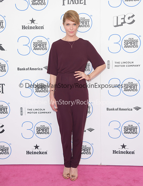 Katie Aselton<br /> <br />  attends 2015 Film Independent Spirit Awards held at Santa Monica Beach in Santa Monica, California on February 21,2015                                                                               © 2015Hollywood Press Agency