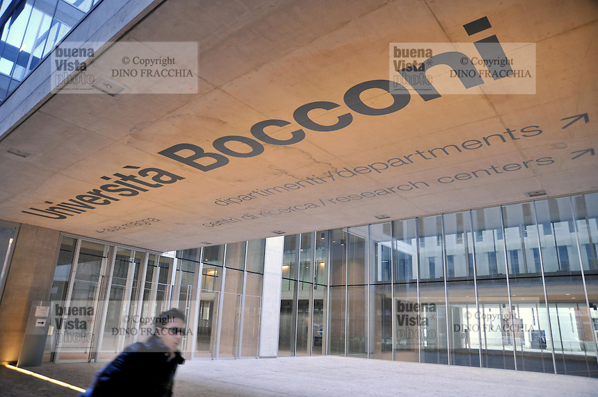 - Milan, the new building of Luigi Bocconi Commercial University in Roentgen street, designed by Grafton Architects<br /> <br /> - Milano, il nuovo palazzo dell' Universit&agrave;  Commerciale Luigi Bocconi in via Roentgen, progettato dallo studio Grafton Architects