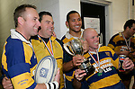 Brian Arthur, David Jakeman, Alapini Olosoni & Paul Wheeler. McNamara Cup final - Premier 1 Championship, Patumahoe v Ardmore Marist. Patumahoe won 13 - 6. Counties Manukau club rugby finals played at Growers Stadium, Pukekohe, 24th of June 2006.